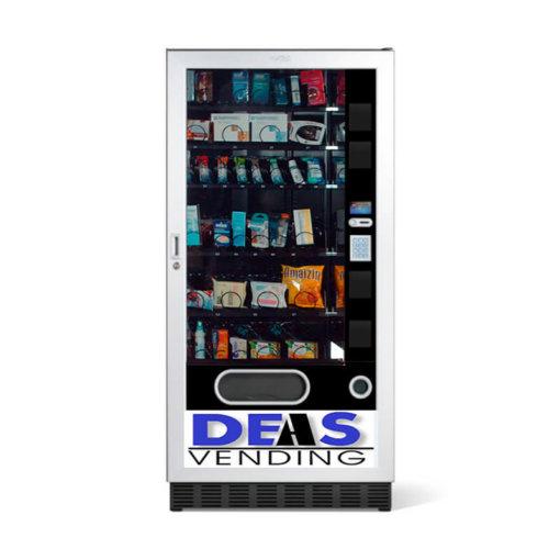 EXPENDEDORA PARAFARMACIA Deas. es una máquina expendedora de productos farmacéuticos. Un dispensador automático multi-producto con una gestión muy simple