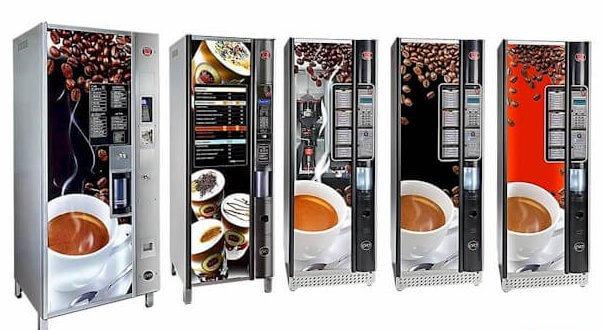 Ducale vending nueva gama maquinas vending for Maquinas expendedoras de cafe para oficinas