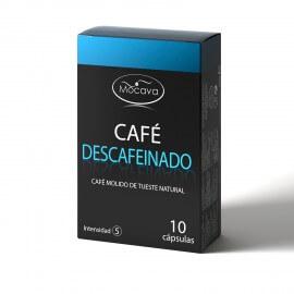 MOCAVA CAFE DESCAFEINADO CAPSULAS