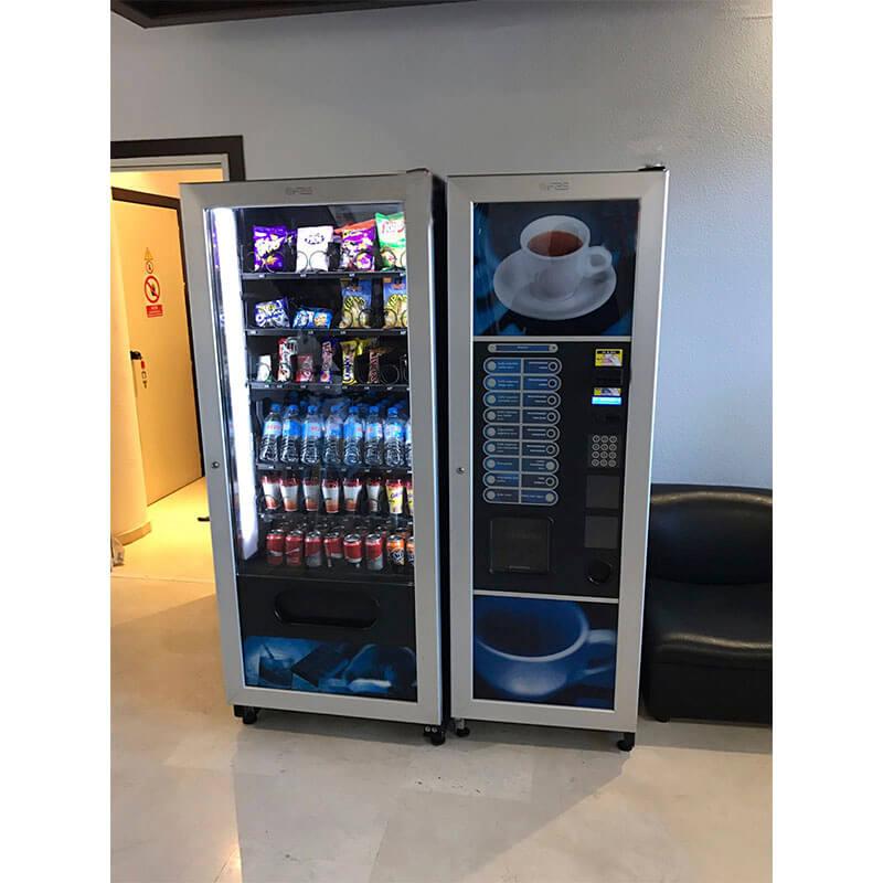 Maquinas expendedoras fas cafe snacks deas vending for Maquinas expendedoras de cafe para oficinas