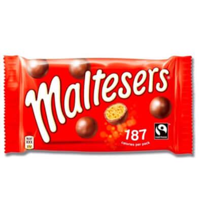Maltesers snacks