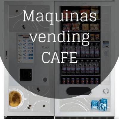 Maquinas vending cafe