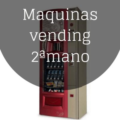 Maquinas vending 2ª mano