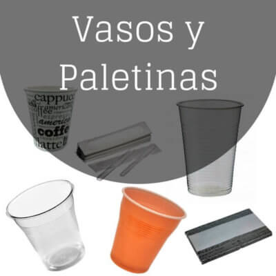 Vasos y paletinas