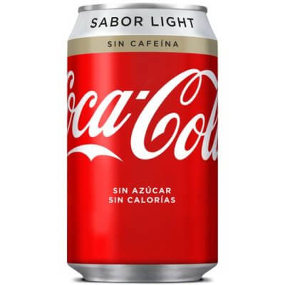 coca cola light sin cafeína
