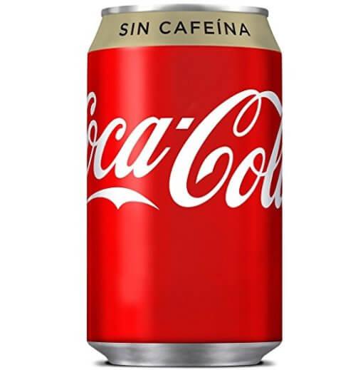coca cola sin cafeina