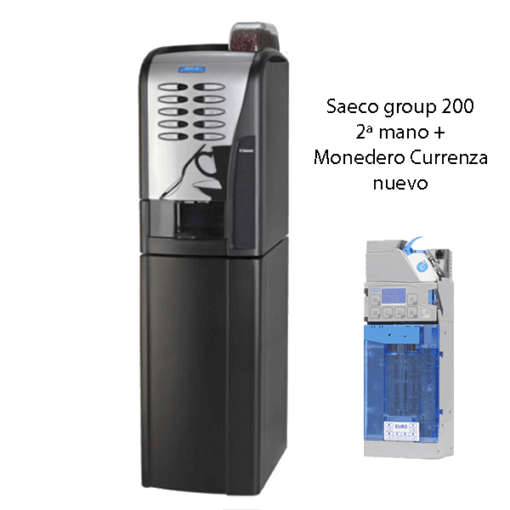 Saeco group 200 + monedero